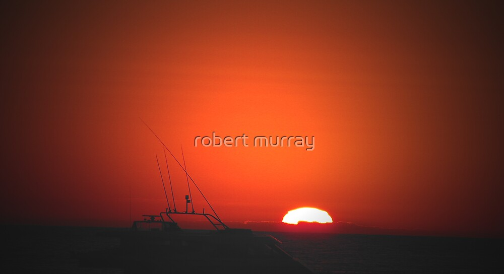 sunset series Lancelin W.A by robert murray