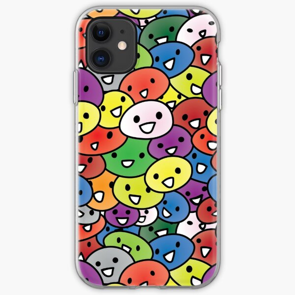 Smiling Shnoozers iPhone Soft Case