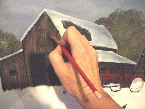 artist at work by conilouz