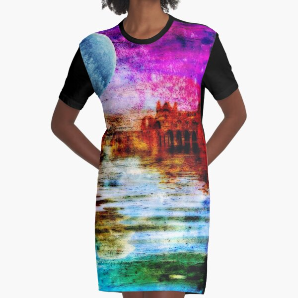 Whitby Abbey Graphic T-Shirt Dress