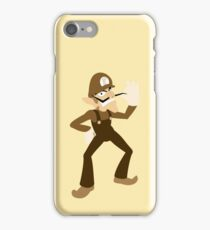 Brown-a-Weegee iPhone Case/Skin