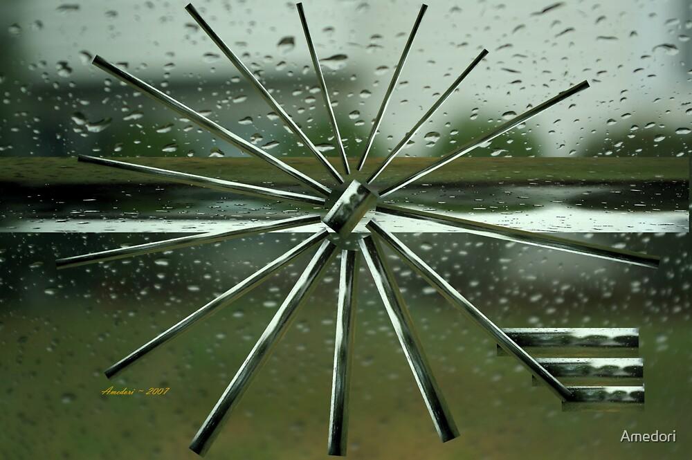 Rain Spokes by Amedori