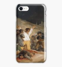 "Francisco De Goya Y Lucientes - Tthe 3rd Of May 1808 In Madrid Or ""the Executions"" iPhone Case/Skin"