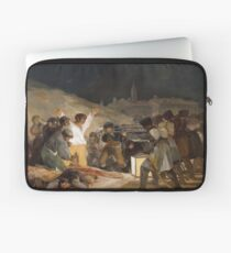 """Francisco De Goya Y Lucientes - Tthe 3rd Of May 1808 In Madrid Or """"the Executions"""" Laptop Sleeve"""