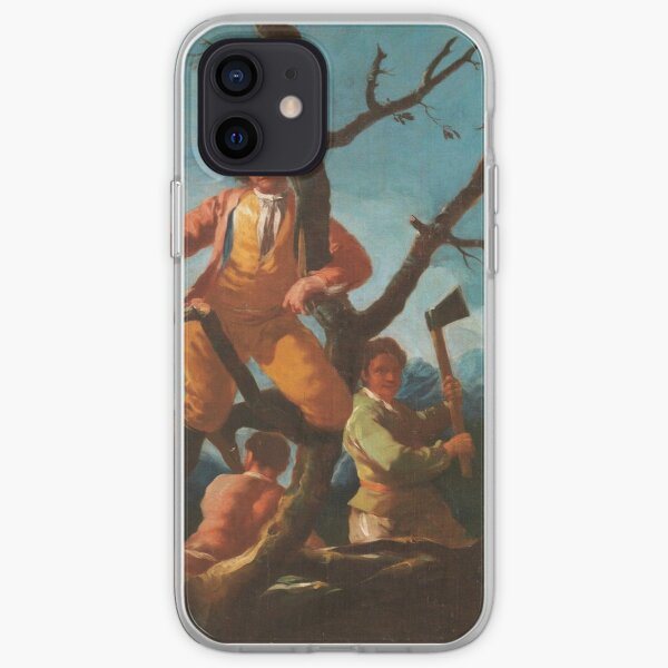 Francisco De Goya Y Lucientes - The Woodcutters iPhone Soft Case