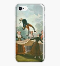Francisco De Goya Y Lucientes - The Straw Manikin iPhone Case/Skin