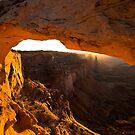 Mesa Arch by Nick Johnson