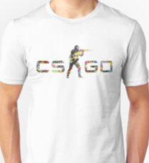 CS GO Stickers Logo Unisex T-Shirt