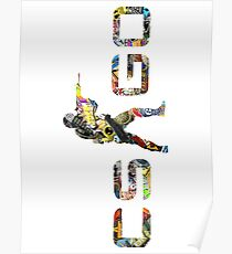 CS GO Stickers Logo Poster