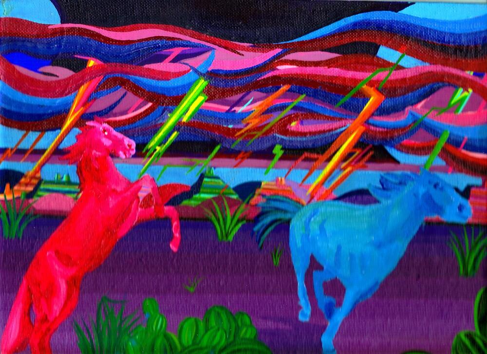 Ghost Horses by Jamie Winter-Schira