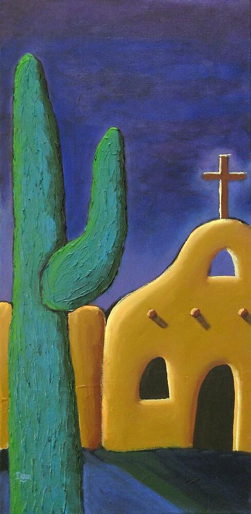 Saguaro Goodbye by Dean Williamson
