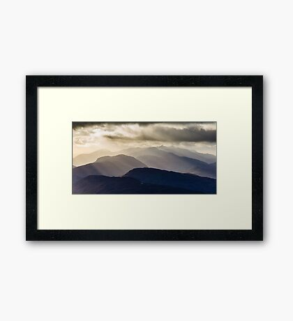Cruachan and Friends Framed Print
