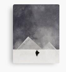 Mountain men Metal Print