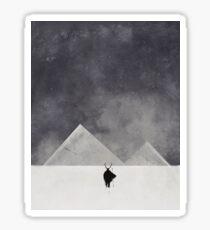 Mountain men Sticker