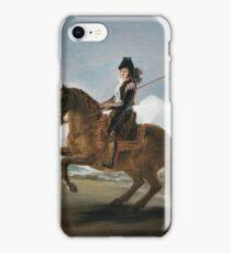 Francisco De Goya Y Lucientes - A Garrochista iPhone Case/Skin