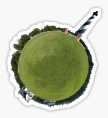 Lighthouse World Sticker