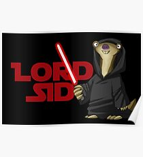 Lord Sid - Star wars/Ice Age Poster