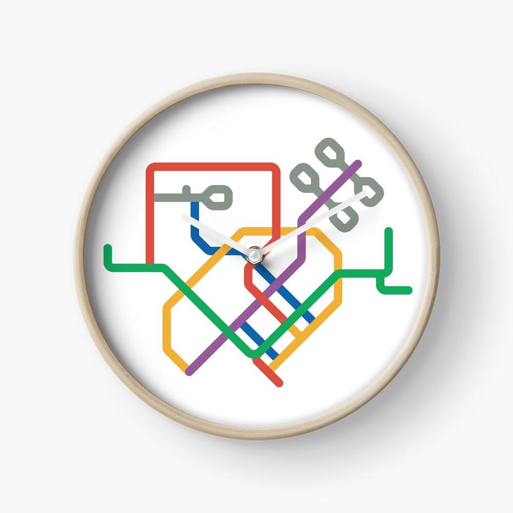 Mini Metros - Singapour Horloge