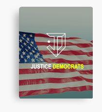 Justice Democrats Canvas Print