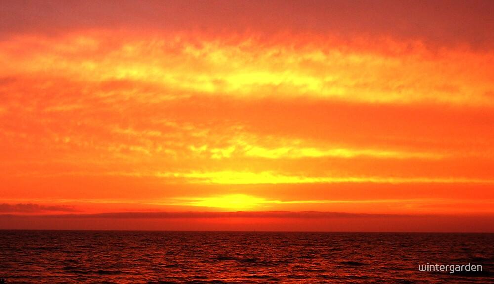 Sunset at Half Moon Bay 2 by wintergarden