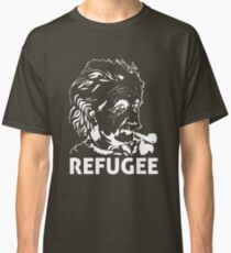 Einstein Refugee (white) Classic T-Shirt