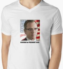 Kirkman for President Mens V-Neck T-Shirt