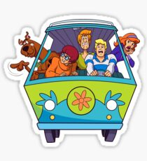 scooby doo and friends Sticker