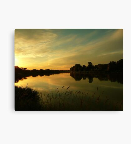 The Magic of the Moment... Canvas Print