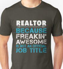 REALTOR job title T-Shirt