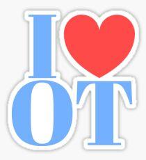 I ❤ OT 2 Sticker