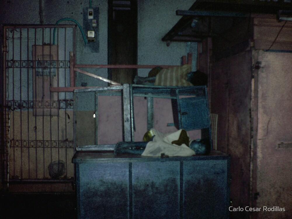 Street Angels Sleeping  by Carlo Cesar Rodillas