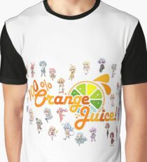 100% Orange Juice Graphic T-Shirt