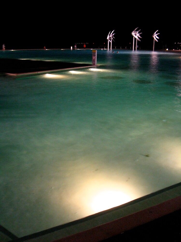Cairns Esplanade by Night by thereisnosquare