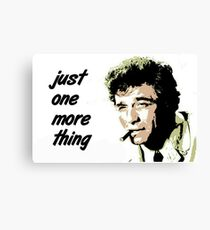 Columbo Canvas Print