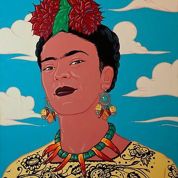 Frida Kahlo Acrylic Painting by timothyjasonwri