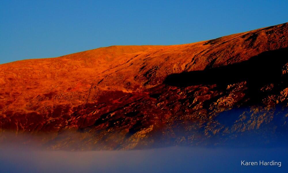 Mountain & Mist by Karen Harding