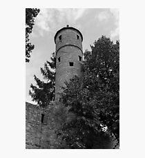 Bad Neustadt an der Saale,City, landmark, history, fortifications, walls, Bavaria, Germany, Europe Photographic Print