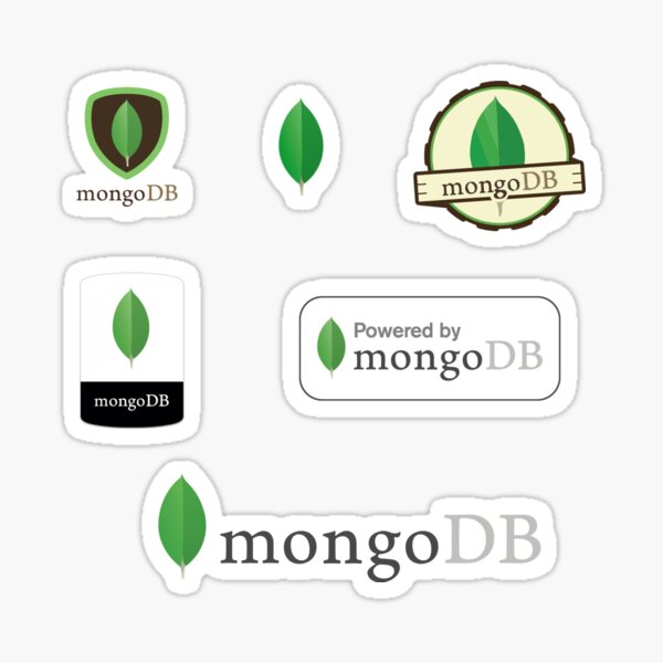 mongodb mongo db sticker set Sticker