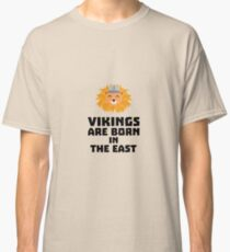 Vikings are born in the East R37dx Classic T-Shirt