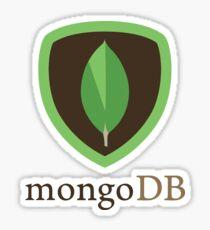 mongodb mongo db database Sticker