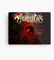 Thunder Catz Metal Print