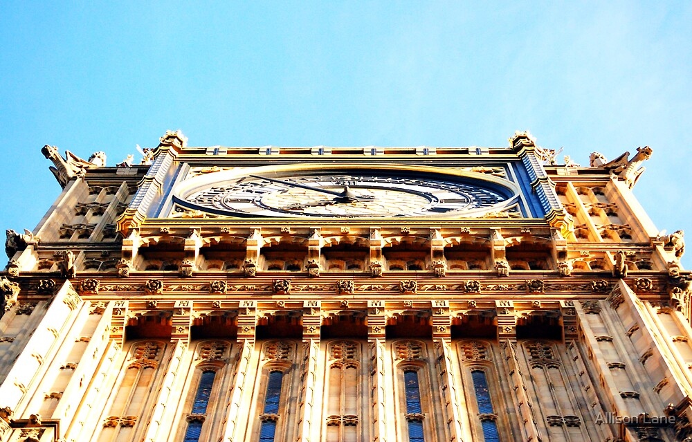 Below Big Ben by Allison Lane