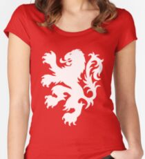 Koningsdag Leeuw 2017 - King's Day Netherlands Celebration Nederland Women's Fitted Scoop T-Shirt