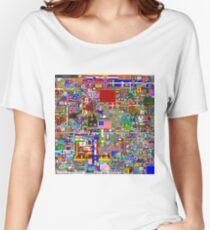 /r/Place 8K resolution Original Print - Final Version Women's Relaxed Fit T-Shirt