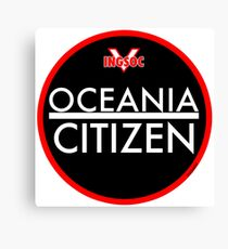 OCEANIA CITIZEN Canvas Print