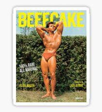 BEEFCAKE Magazine Sticker