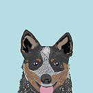 Kellan - Australian Cattle dog gifts and gifts for cattle dog owners dog gifts for a dog person by PetFriendly