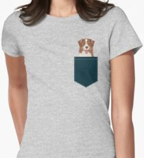 Hollis - Australian Shepherd gifts for dog lovers dog owner gifts and perfect gift for dog person Women's Fitted T-Shirt