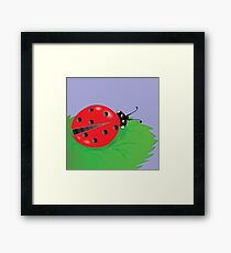 ladybird Framed Print
