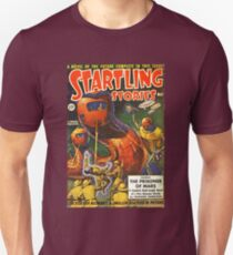 Vintage Startling Stories Pulp Science Fiction Unisex T-Shirt